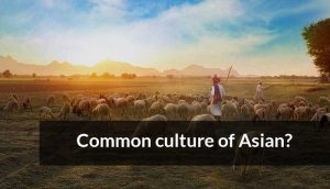 Read more about the article The common culture of Asian?