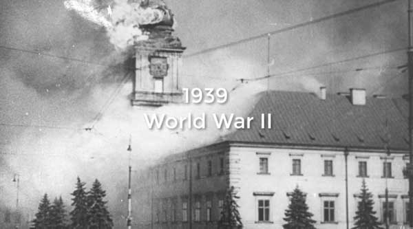 1939-World-War-2: History of Warsaw Poland