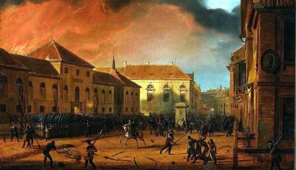 November-Uprising-1830,-Taking-of-the-Warsaw-Arsenal