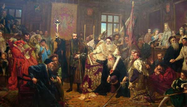 The-Union-of-Lublin: History of Warsaw Poland