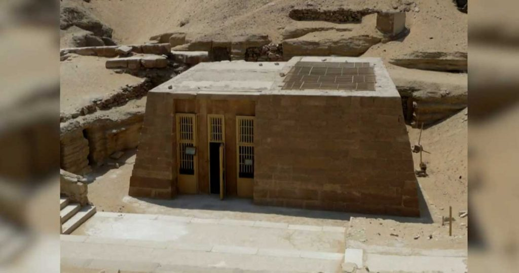 Old-Kingdom-mastaba-tomb