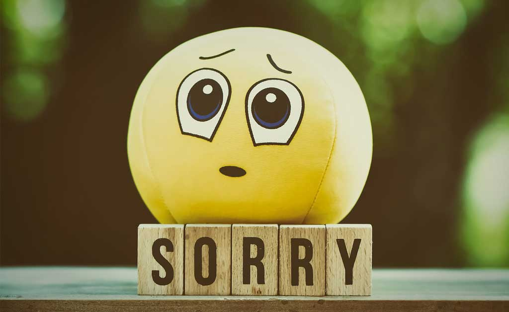 Read more about the article What to say instead of sorry? 05 alternative way!