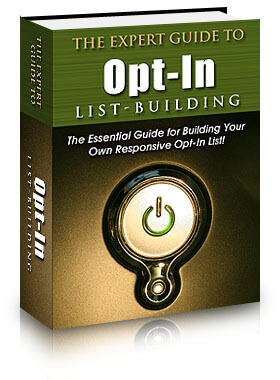 Expert Guide to Opt-in List Building eBook